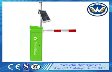 Cina Solar Safety Photocell Kendaraan Barrier Gate Arm Automatic Barrier Boom Gate pemasok