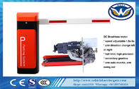 12V Backup Battery Traffic Barrier Gate Brushless Motor DC RS485 Kecepatan Disesuaikan