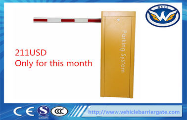 1.5M Cold Rolled Steel Sheet Listrik Barrier Gate, Hambatan Access Auto Car Park