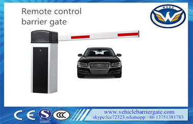 Wireless Control Driveway Barrier Gates 6s 6m Aluminium Alloy Swing Out