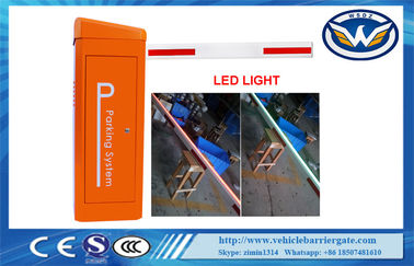 Cina 0.6S High Speed ​​Gate Kendaraan Barrier Gate 24V Motor DC LED Barrier Distributor